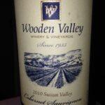 Wooden Valley 2010 Suisun Valley Cabernet Sauvignon
