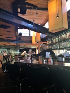 RD Kitchen Yountville inside bar