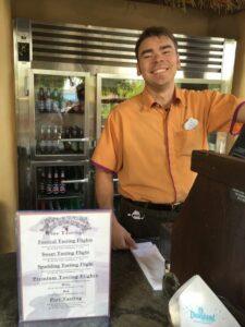 Disney California Adventure Mendocino Wine Bar Wine Ambassador Zach