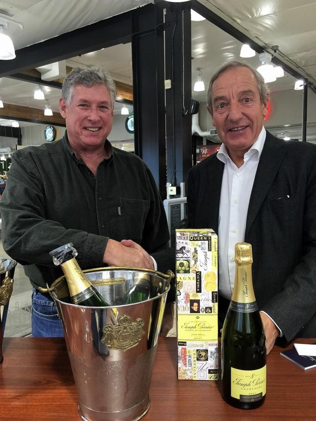 Joseph Perrier Champagne tasting