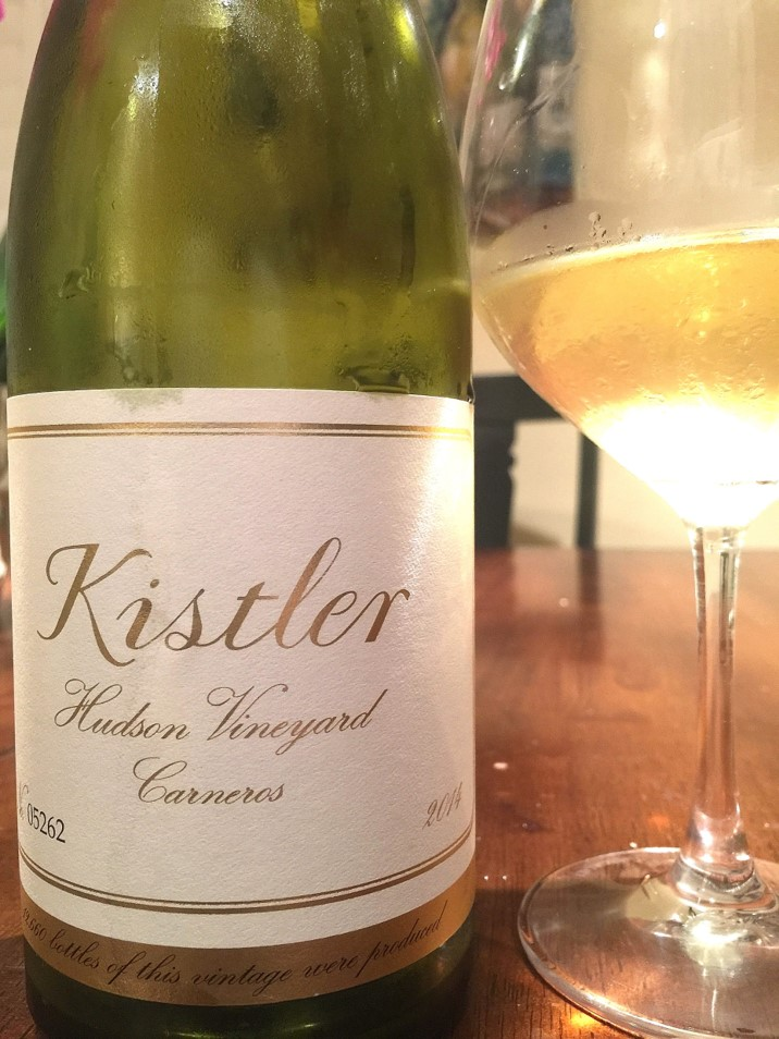 2014 Kistler Vineyards Carneros Hudson Vineyard Chardonnay vert