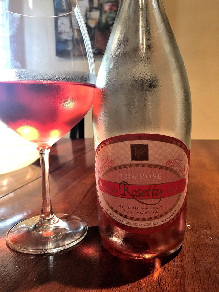 summer sip 2016 Wooden Valley Winery Suisun Valley Rosetta