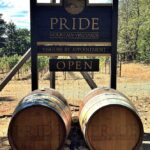 Pride Mountain Vineyards welcome sign