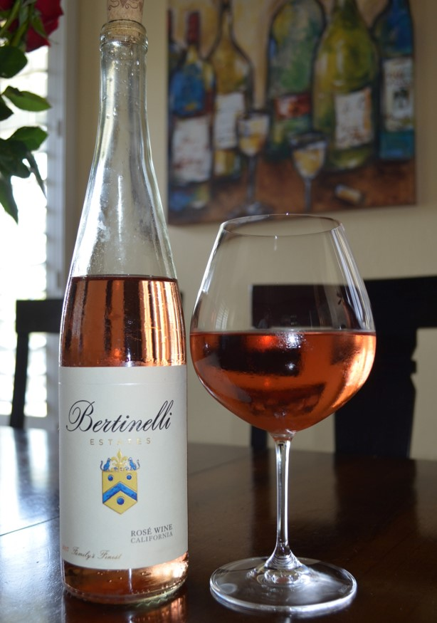 Bertinelli Estates 2017 Rose Wine California