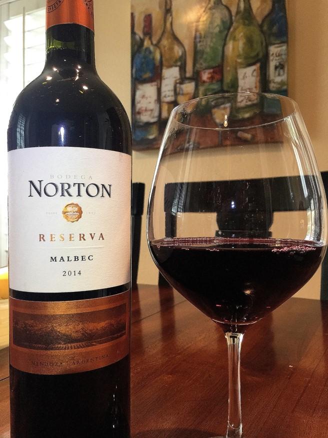 Norton 2014 Malbec Reserva