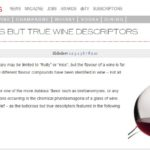 Drinks Business Ludicrous But True Wine Descriptors