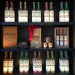 Hanson of Sonoma organic vodka tasting room display