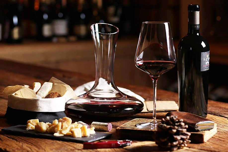 Le Chateau Wine Decanter featured Wine Adventure Journal