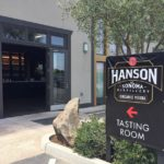 Hanson of Sonoma tasting room entrance Wine Adventure Journal