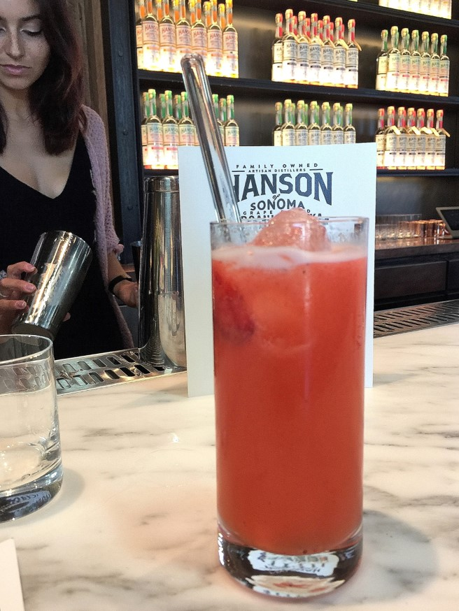 Strawberry Gingerade at Hanson of Sonoma Wine Adventure Journal