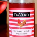 DaVero 2018 Rosato DAmici Barbera Sangiovese Rose Mendocino County featured