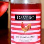 DaVero 2018 Rosato DAmici Barbera Sangiovese Rose Mendocino County featured
