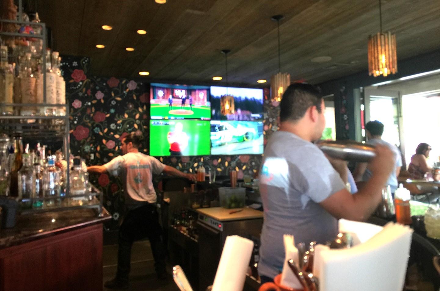 Bar at La Calenda Yountville Napa Valley