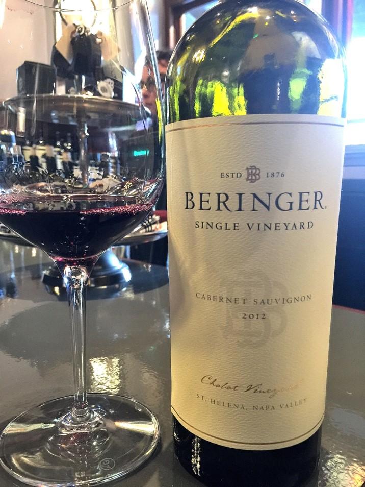 2012 Beringer Single Vineyard Cabernet Sauvignon