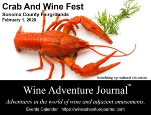 Crab And Wine Fest 2020 @ Sonoma County Fairgrounds - Hall Of Flowers And Grace Pavilion