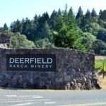 Deerfield Ranch Winery sign