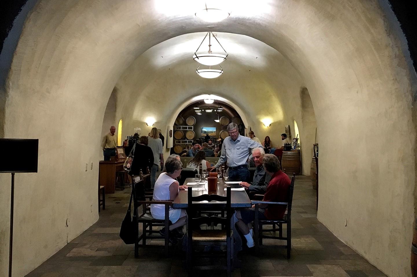 Deerfield Ranch Winery tasting room entrance
