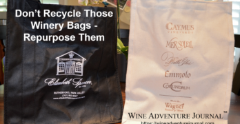 Dont Recycle Those Winery Bags Repurpose Them