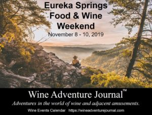 Eureka Springs Food & Wine Weekend 2019 @ Eureka Springs, Arkansas - multiple venues