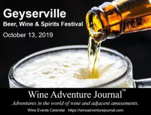 Geyserville Beer, Wine & Spirits Festival 2019 @ Geyserville Inn