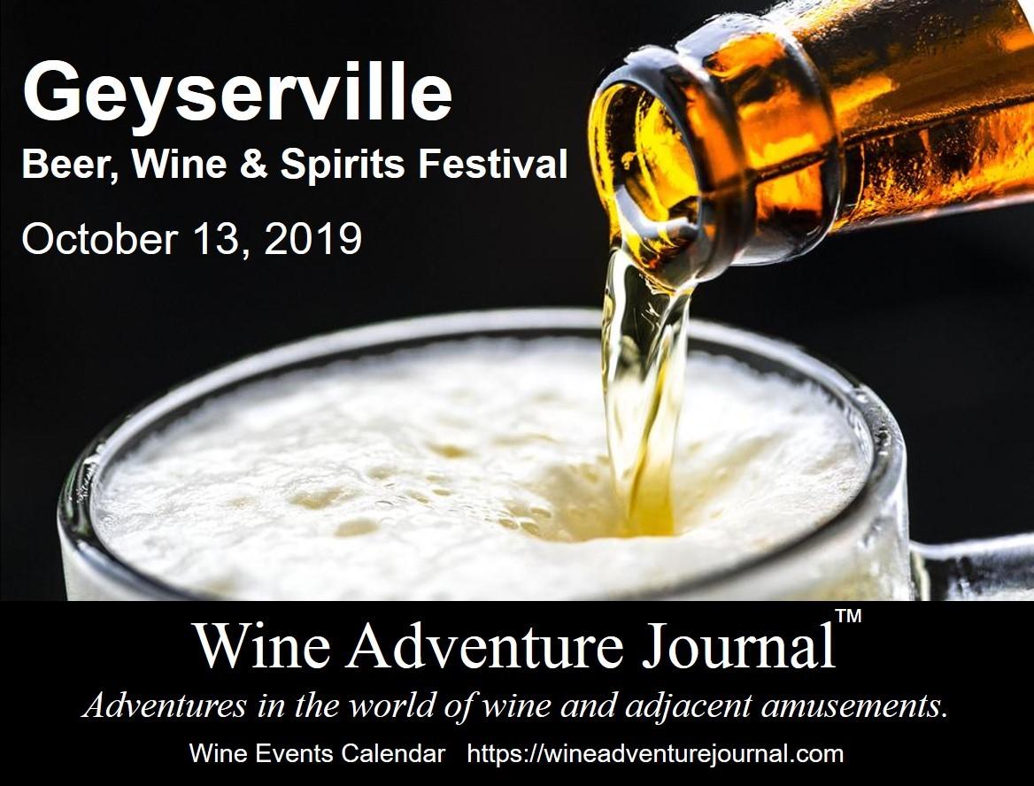 Geyserville Beer Wine Spirits Festival 2019