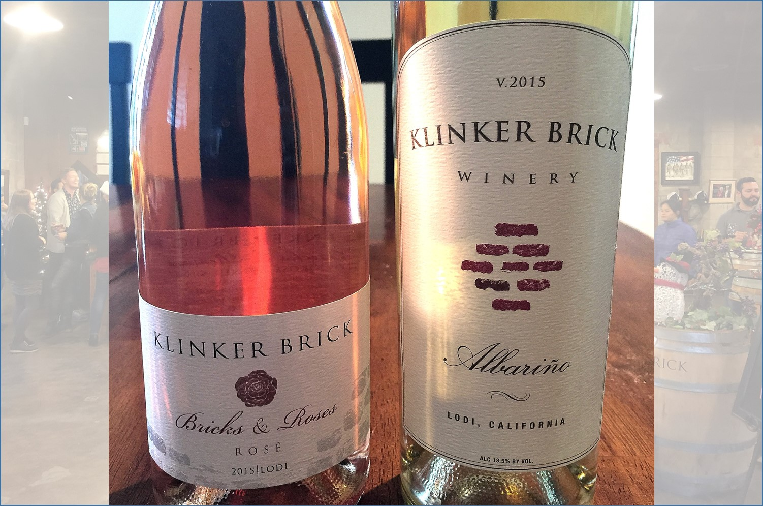 Klinker Brick Winery 5 Albarino and Bricks and Roses