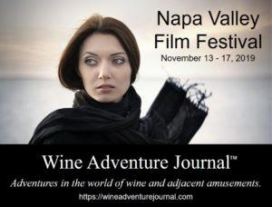 Napa Valley Film Festival 2019 @ Napa Valley - multiple venues