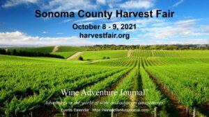 Sonoma County Harvest Fair 2021 @ Sonoma County Fairgrounds