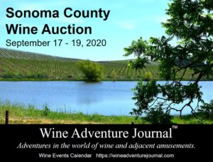 Sonoma County Wine Auction 2020 @ Sonoma County - several venues, see organizer's website.