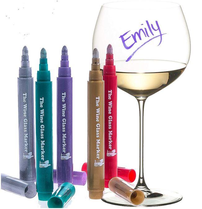 The Wine Glass Marker