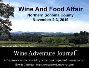 Wine And Food Affair 2019 @ Sonoma County, California