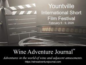 Yountville International Short Film Festival 2020 @ Various venues downtown