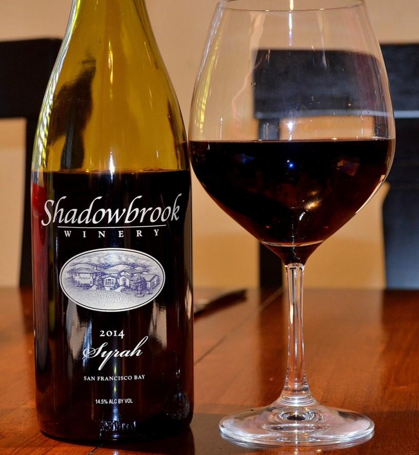 2014 Shadowbrook Winery Syrah San Francisco Bay