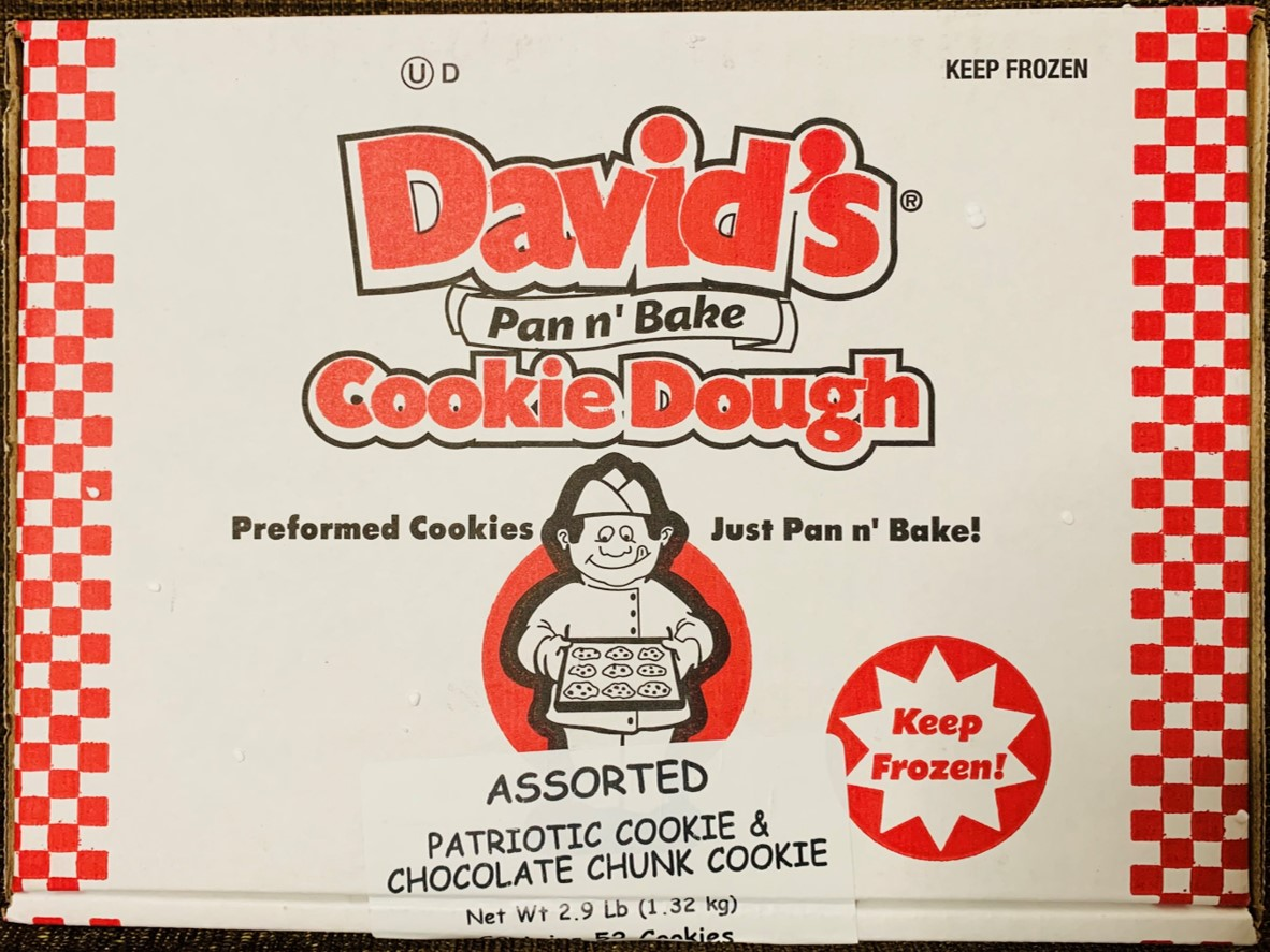 Davids Pan N Bake Cooke Dough