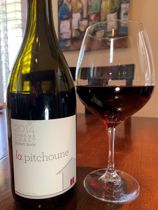 2014 la pitchoune Sonoma Coast Pinot Noir