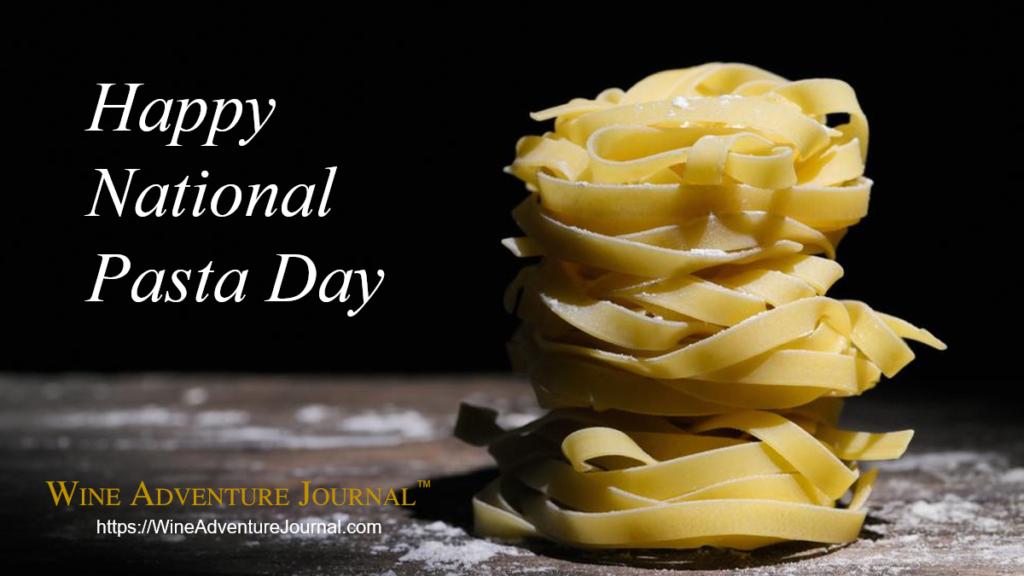 Happy National Pasta Day 2020