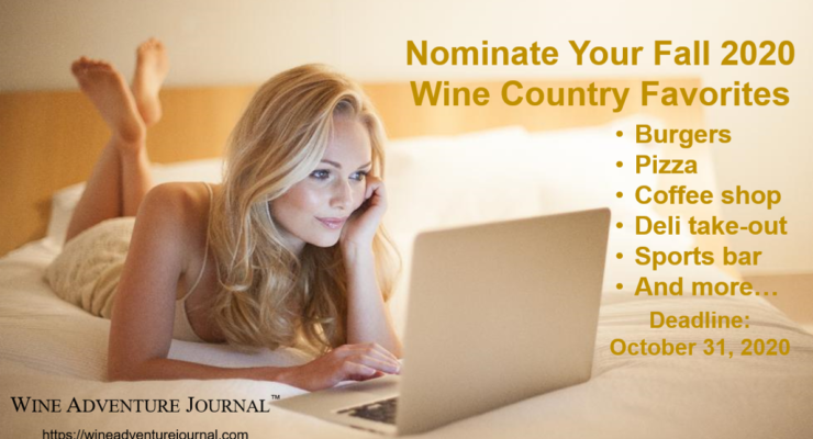Nominate Your Wine Country Favorites Fall 2020