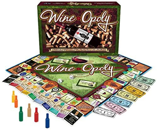 WineOpoly wine board game
