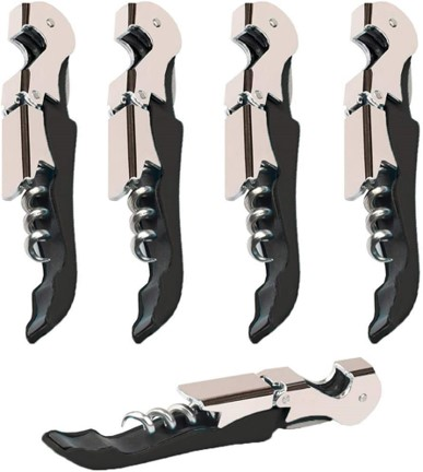 Kit Home Waiters Corkscrew 4 Pack