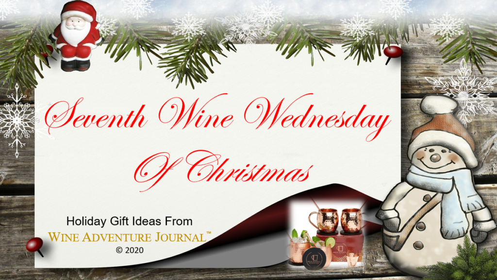 Seventh Wine Wednesday Of Christmas Moscow Mule Gift Set