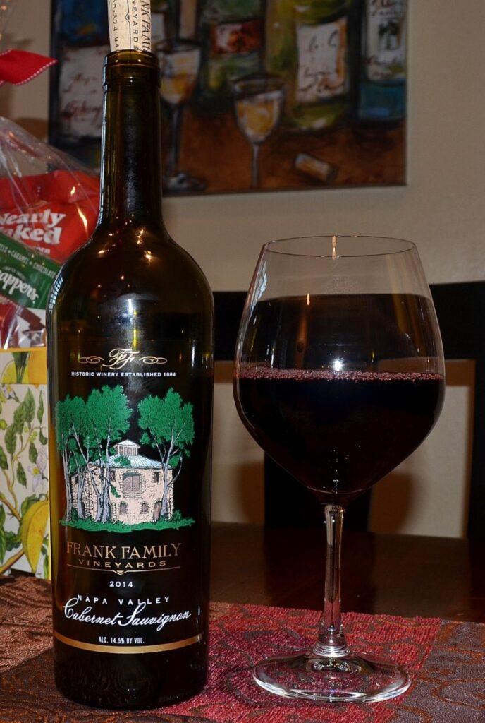 Frank Family Vineyards Cabernet Sauvignon Napa Valley 2014