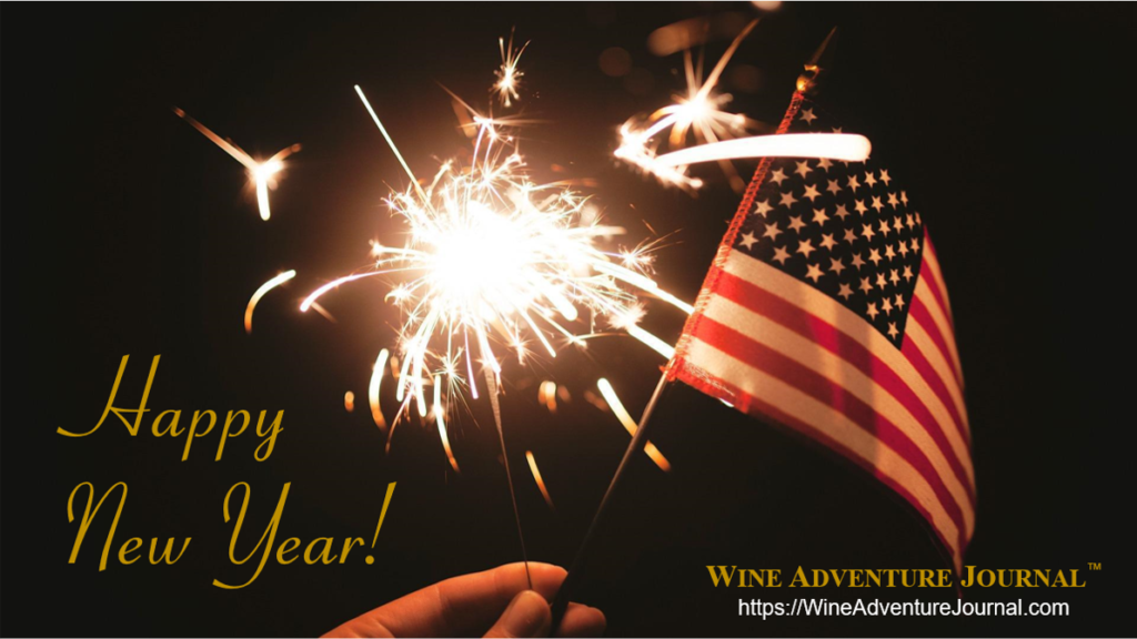 Happy New Year 2021 from Wine Adventure Journal