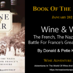 Book Of The Month Wine and War by Donald and Petie Kladstrup