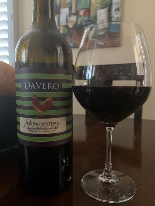 DaVero Hawk Mountain Estate Vineyard Sagrantino Riserva 2012