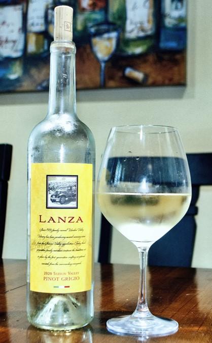 2020 Wooden Valley Lanza Suisun Valley Pinot Grigio