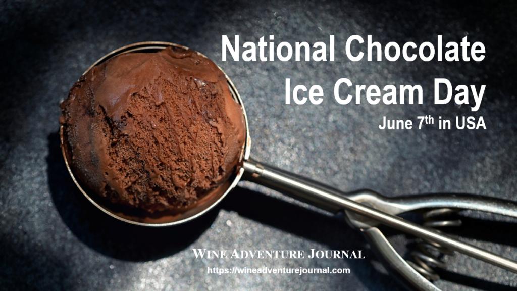 National Chocolate Ice Cream Day