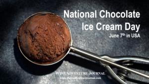National Chocolate Ice Cream Day @ USA