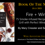 Book Of The Month Fire + Wine by Mary Cressler and Sean Martin