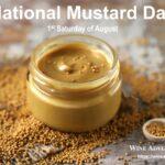 National Mustard Day