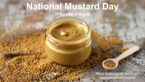 National Mustard Day @ USA